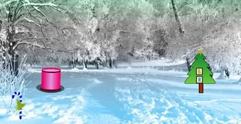 Волшебный зимний лес