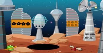 Спасти герлу с Марса