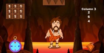 Голодный пещерный человек