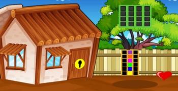 Уйти из дома с деревянной крышей