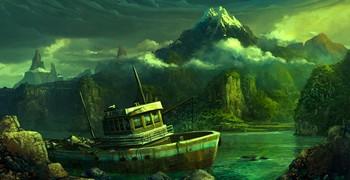 Побег с тайного острова