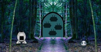 Робот сломался в лесу