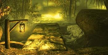 Выйти из ослепительного леса