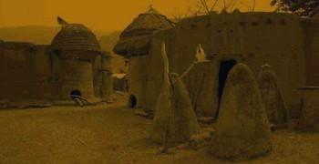 Уникальная африканская деревня